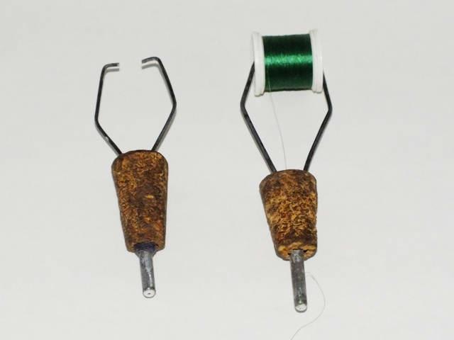 Бобинодержатель для вязания мушек своими руками