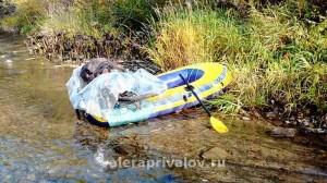 Река Кумыш - все готово к отплытию