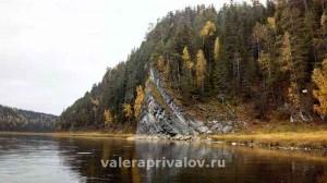 Река Чусовая - скала Разбойник