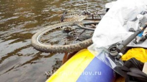Река Чусовая - и велику тоже нашлось место