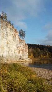 Река Чусовая - скала Отметыш