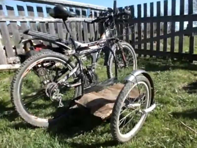 Бензопила для велосипеда своими руками 764